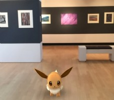 Pokemon Go in het Museum